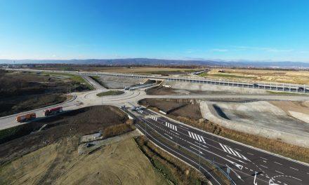 Otvorenie mimoúrovňovej križovatky Triblavina na diaľnici D1 na úseku Bratislava – Senec
