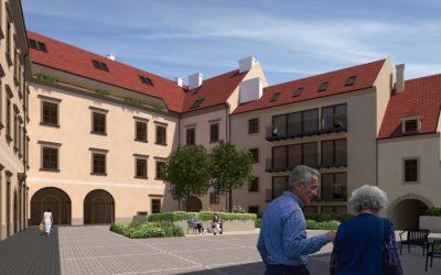 Raiffeisen obnoví schátraný Esterházyho palác. Za asi 20 miliónov postaví aj luxusné byty