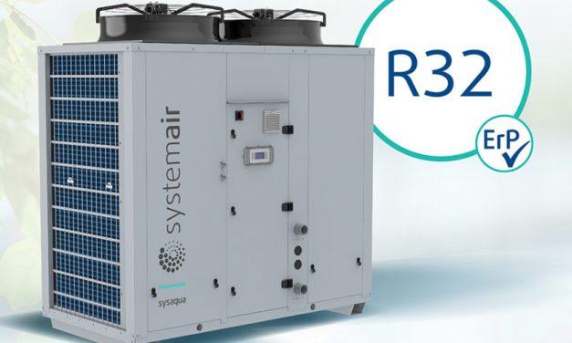 SYSAQUA R32 – Nové ekologické chillery a tepelné čerpadlá