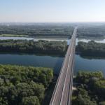Obchvat Bratislavy D4/R7 spolu s novým mostom cez Dunaj čoskoro otvoria